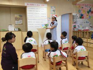 月に一回の保健授業🏥~手洗い編~