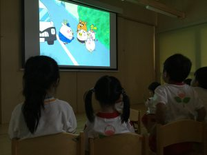 交通安全教室✨
