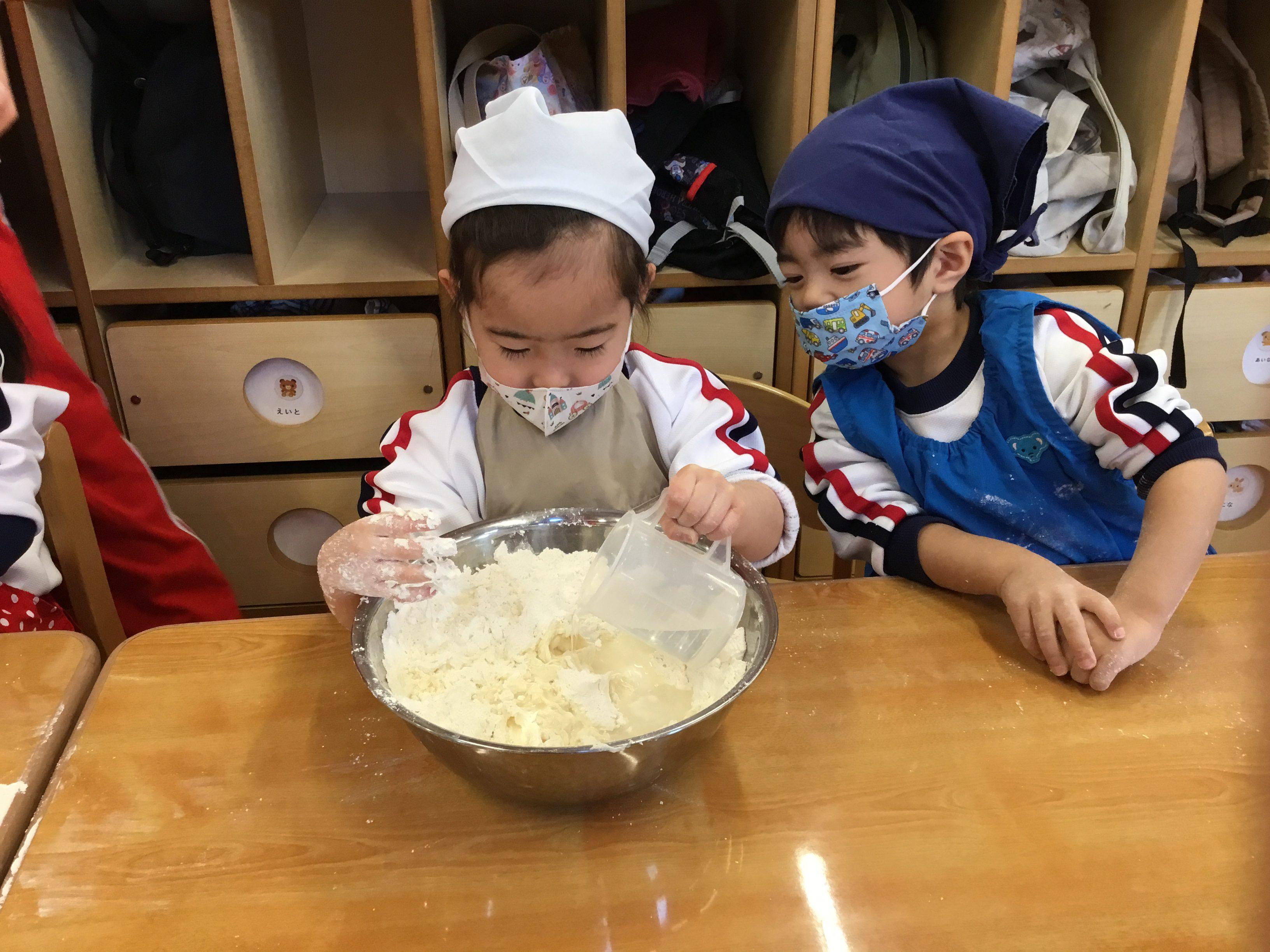 団子汁作り&お正月遊び★